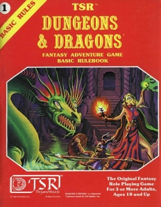Dungeons & Dragons started with books, graph paper and multisided dice.